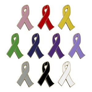 Awareness Ribbon Lapel Pin - Stock